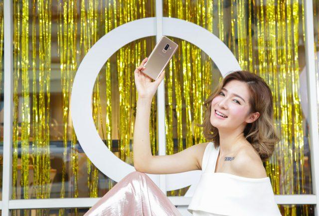 Galaxy S9+再推新色「晨漾金」 @basic的生活日記