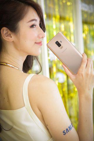 Galaxy S9+再推新色「晨漾金」