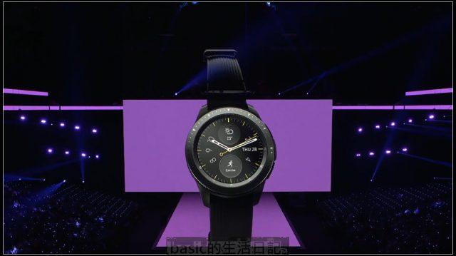 三星新一代智慧型手錶Galaxy Watch 隨時隨地連線不間斷 @basic的生活日記