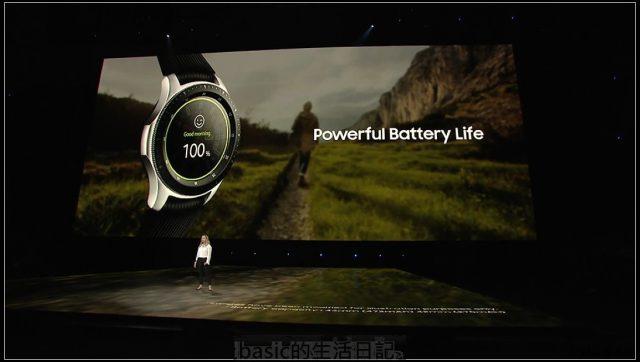 三星新一代智慧型手錶Galaxy Watch 隨時隨地連線不間斷