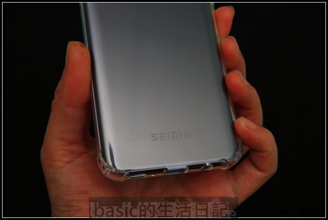 SEIDIO OPTIK™ 四角氣墊輕透保護殼for Samsung Galaxy S8 Plus分享