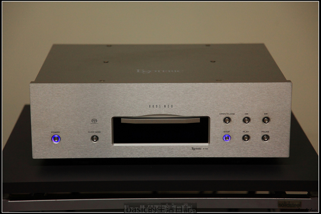 售Esoteric X-03 Sacd player @basic的生活日記