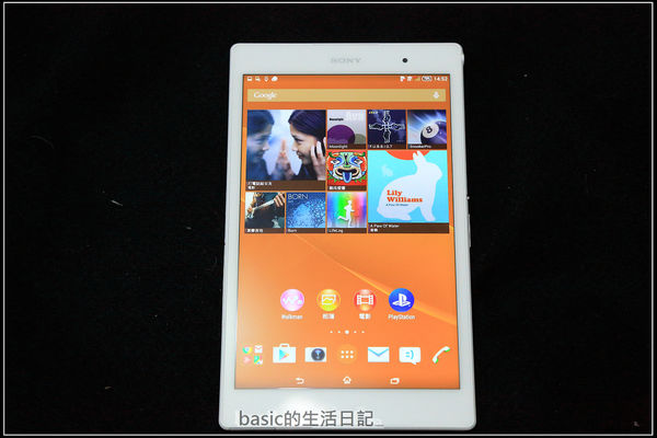 極致輕薄防水8吋平板–SONY Z3 Tablet Compact LTE @basic的生活日記